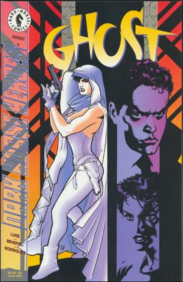 Ghost (1995) 6-A by Dark Horse
