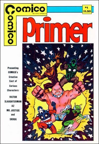 Primer (1982) 1-A by Comico