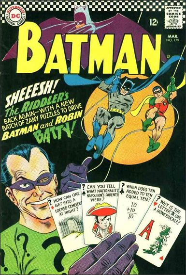 Batman (1940) 179-A by DC