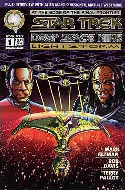 Star Trek: Deep Space Nine: Lightstorm 1-A by Malibu