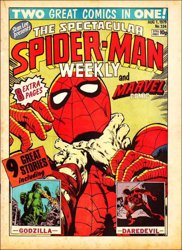 Spider-Man: Comics Weekly (UK) 334-A by Marvel UK