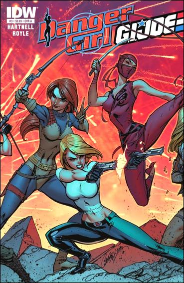 Danger Girl/G.I. Joe 3-A by IDW