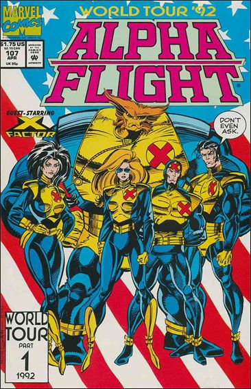 Alpha Flight (1983) 107-A by Marvel