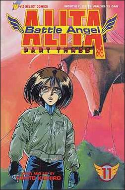 Battle Angel Alita Part 3 11-A by Viz