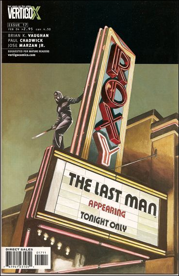 Y: The Last Man 17-A by Vertigo