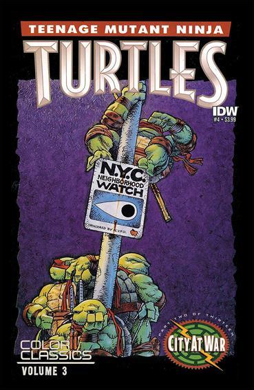 Teenage Mutant Ninja Turtles Color Classics Vol. 03 4-A by IDW