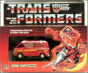 Transformers: More Than Meets the Eye (Generation 1) Ironhide (Autobot Security) by Hasbro