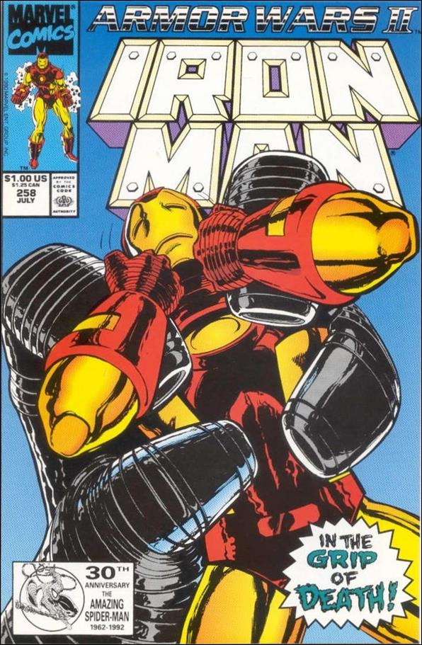 Iron Man (1968) 258-B by Marvel