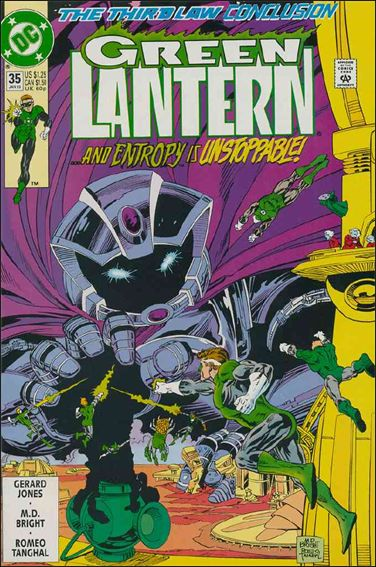 Green Lantern (1990) 35-A by DC