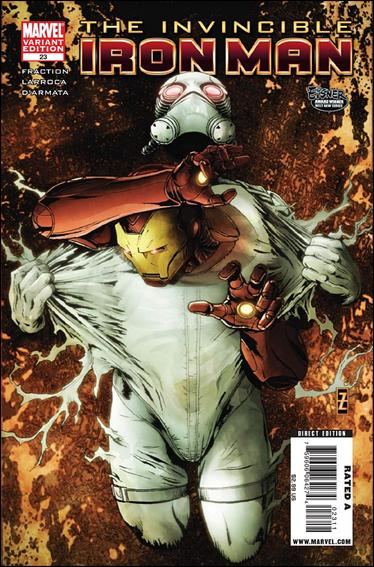 Invincible Iron Man (2008) 23-B by Marvel