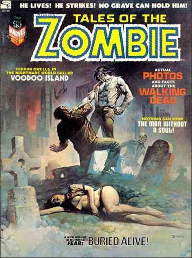 Tales of the Zombie 2-A by Marvel