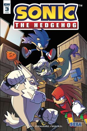 Sonic the Hedgehog (2018) 3-D