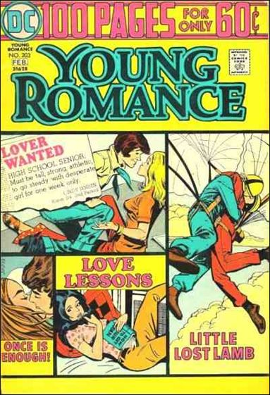 Young Romance (1963) 203-A by DC