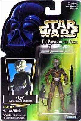 "Star Wars: The Power of the Force 2 3 3/4"" Basic Action Figures 4-LOM by Kenner"