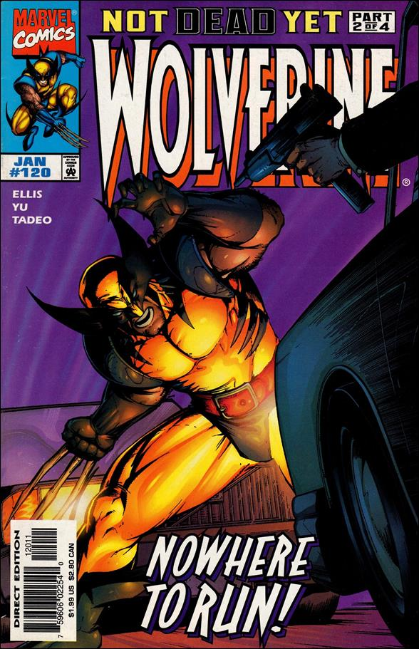 Wolverine (1988)  120-A by Marvel