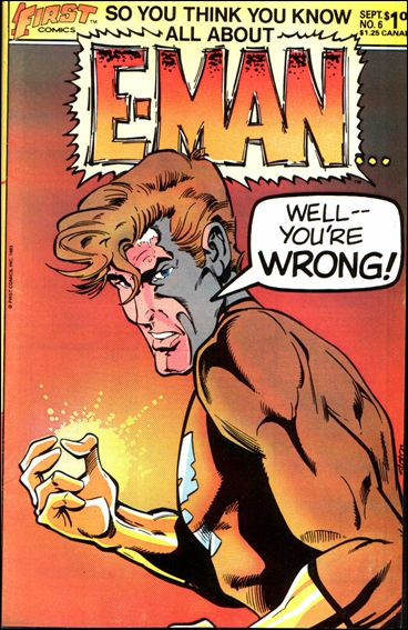 E-Man (1983) 6-A by First