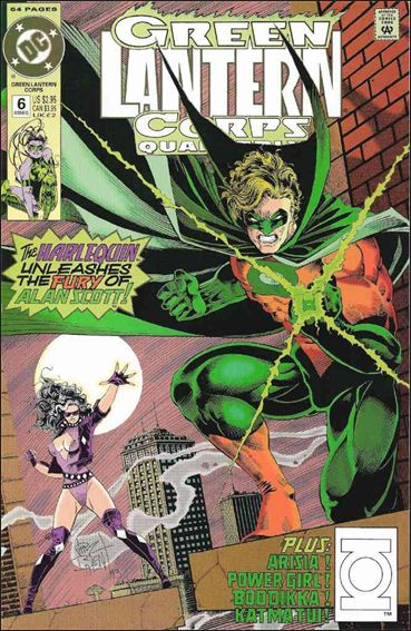 Green Lantern Corps Quarterly 6-A by DC