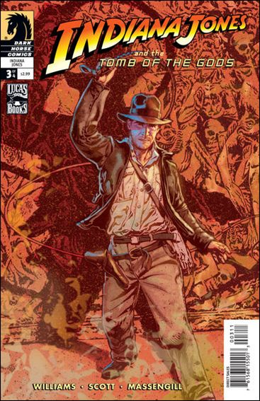 Indiana Jones and the Tomb of the Gods 3-A by Dark Horse