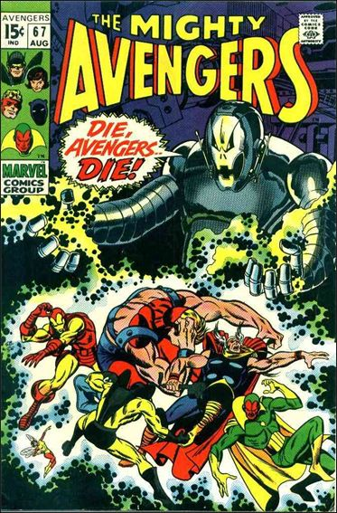 Avengers (1963) 67-A by Marvel