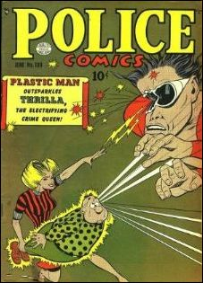 Police Comics 100-A by Comic Magazines