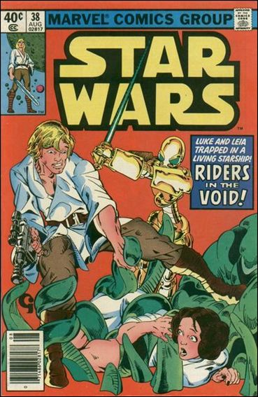 Star Wars (1977) 38-A by Marvel