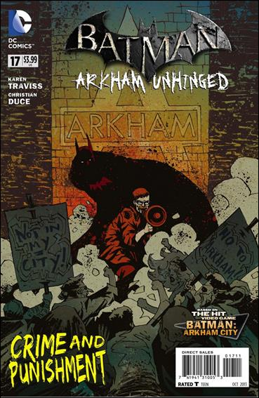 Batman: Arkham Unhinged 17-A by DC