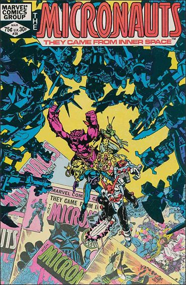 Micronauts (1979) 39-A by Marvel