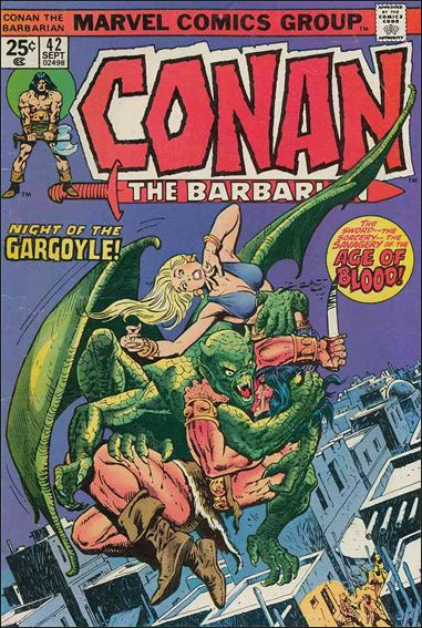 Conan the Barbarian (1970) 42-A by Marvel