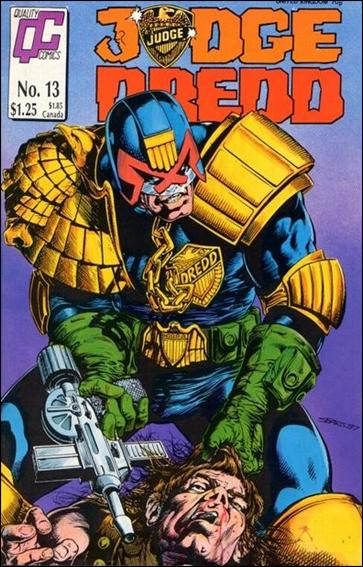 Judge Dredd (1986) 13-A by Quality Comics