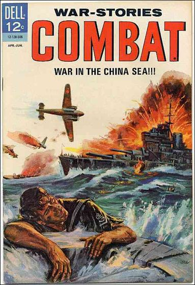 Combat (1961) 16-A by Dell