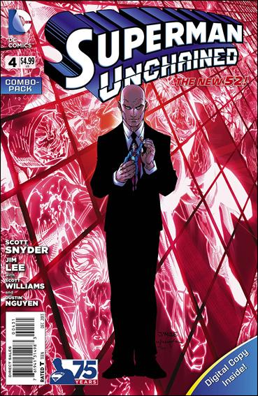 Superman Unchained 4-C by DC