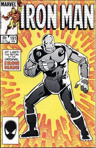 Iron Man (1968) 191-A by Marvel
