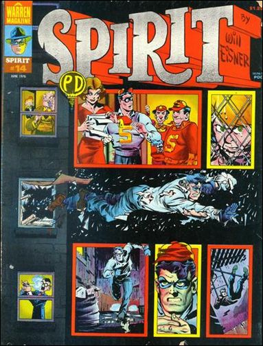 Spirit (1974) 14-A by Kitchen Sink