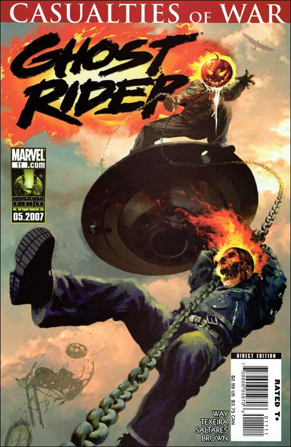 Ghost Rider (2006) 11-A by Marvel
