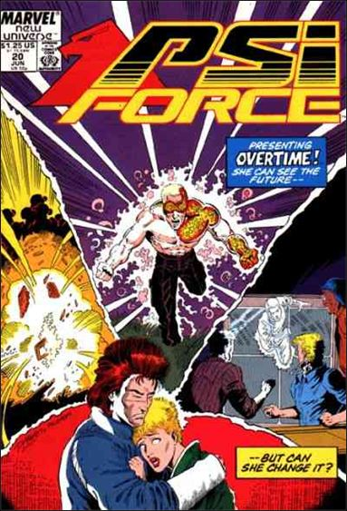 Psi-Force 20-A by Marvel