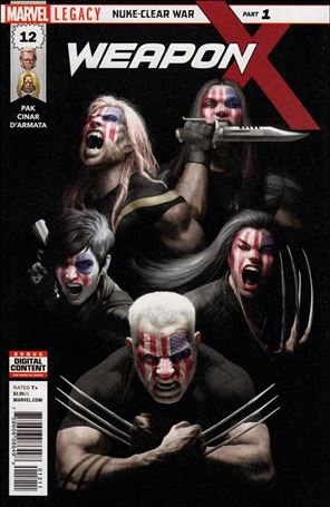 Weapon X (2017) 12-A
