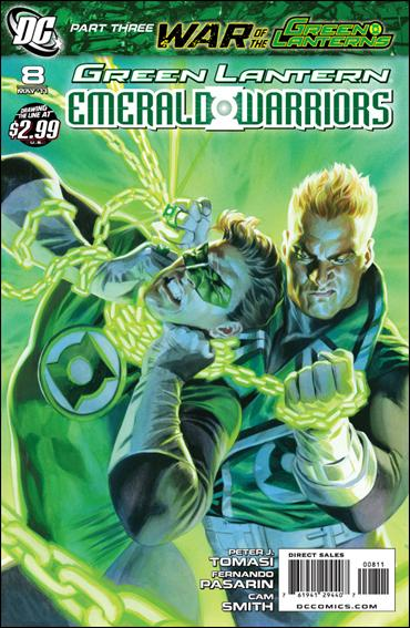 Green Lantern: Emerald Warriors 8-A by DC