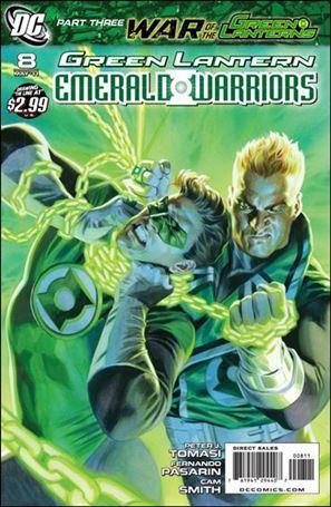 Green Lantern: Emerald Warriors 8-A
