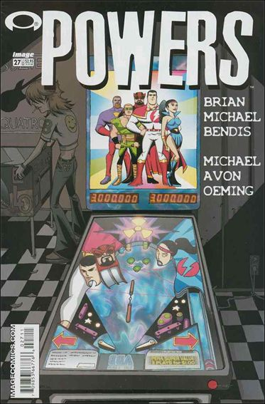 Powers (2000) 27-A by Image