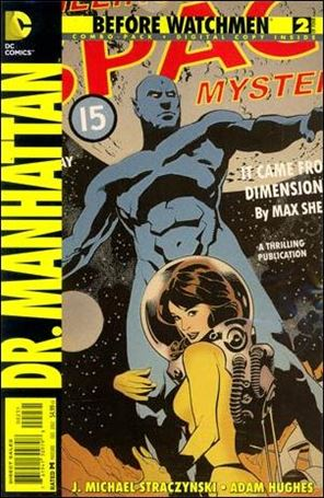 Before Watchmen: Dr. Manhattan 2-B