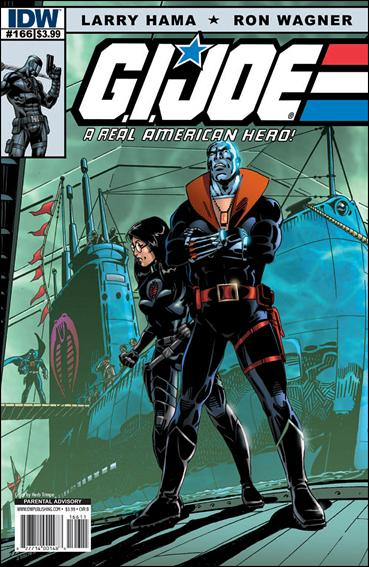 G.I. Joe: A Real American Hero 166-B by IDW