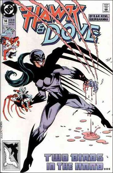 Hawk and Dove (1989) 14-A by DC