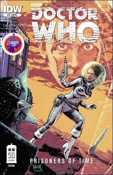 Doctor Who: Prisoners Of Time  10-E by IDW