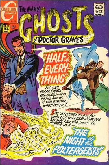 Many Ghosts of Dr. Graves 18-A by Charlton