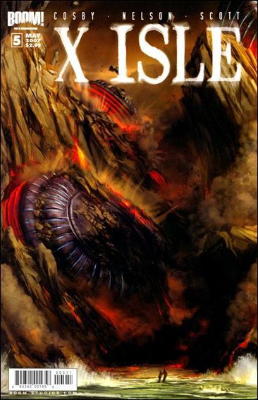 X Isle 5-A by Boom! Studios