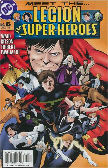 Legion of Super-Heroes (2005) 6-A by DC