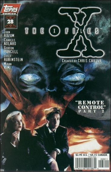 X-Files (1995) 28-A by Topps