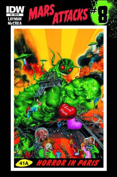 Mars Attacks (2012) 8-C by IDW