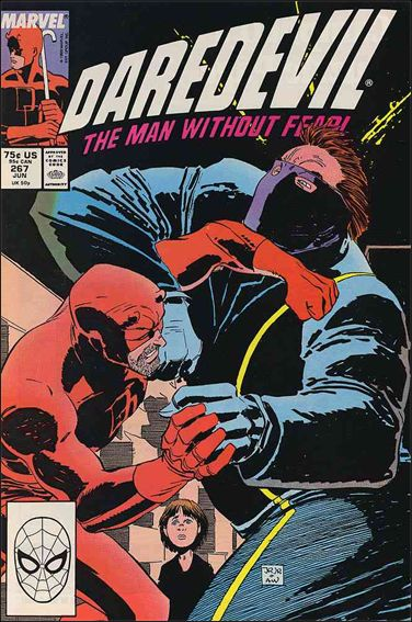 Daredevil (1964) 267-A by Marvel