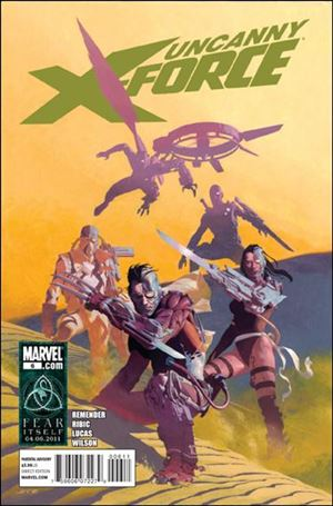Uncanny X-Force (2010) 6-A